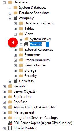 SQL Server Rename View